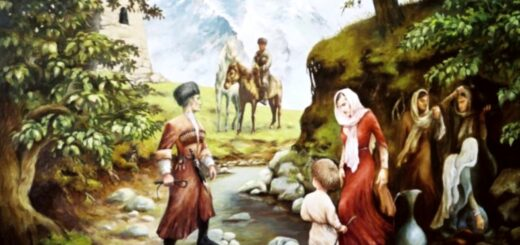 Родник в горах